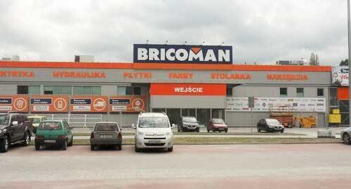 budynek sklepu Bricoman Polska w Jaworznie