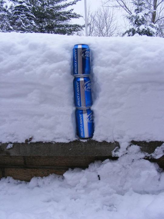 pomiar pokrywy śniegowej