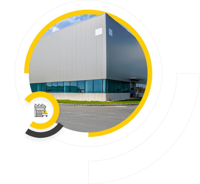 Realizacje dla hal produkcyjnych. Platforma Smart Roof, monitoring ugięć, Sense S-One od Sense Monitoring