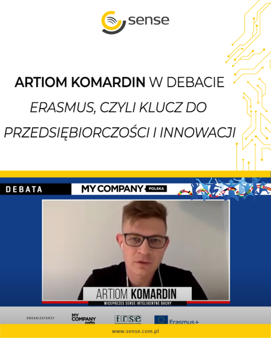 Artiom Komardin w debacie o polskiej Dolinie Krzemowej