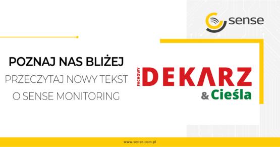 Sense Monitoring w Fachowym Dekarzu & Cieśli